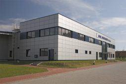 widok ogólny 1 - rozbudowa hali produkcyjnej, dla OML Morando, Czerwionka-Leszczyny