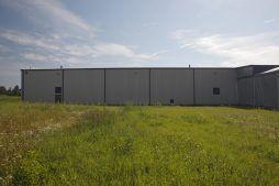 elewacja boczna - rozbudowa hali produkcyjnej, dla OML Morando, Czerwionka-Leszczyny
