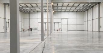 posadzka przemysłowa w hali - budowa w generalnym wykonawstwie, dla Grupa Inco, przez CoBouw Poska, hale stalowe