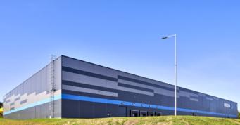 centrum logistyczne - hala magazynowa, dla firmy spedycyjnej, Indeka Logistic City, Płaszewko, woj. pomorskie