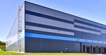 zblizenie na gotowy obiekt logistyczny - centrum logistyczne, dla Indeka Logistic City, inwestycja pod klucz, woj. pomorskie
