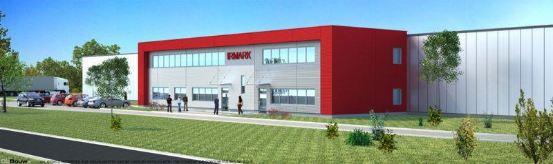 Budowa magazynu z budynkiem socjalno-biurowym dla Irmark Sp.zo.o.