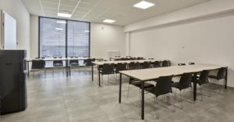 część kafeteryjna dla pracowników - budowa w Kostrzyńsko-Słubickiej SSE, dla Kentaur, przez firmę CoBouw, generlanego wykonawcę hal stalowych