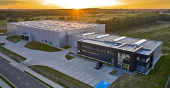 wybudowany zakład produkcji odzieży roboczej - generalne wykonawstwo hali z budynkiem biurowym, dla firmy Kentaur Production, w Łobzie, w woj. zachodniopomorskim, na terenie Kostrzyńsko-Słubickiej SSE