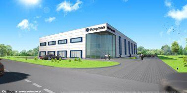 Budowa hali dla Koopman International B.V. sp.zo.o.