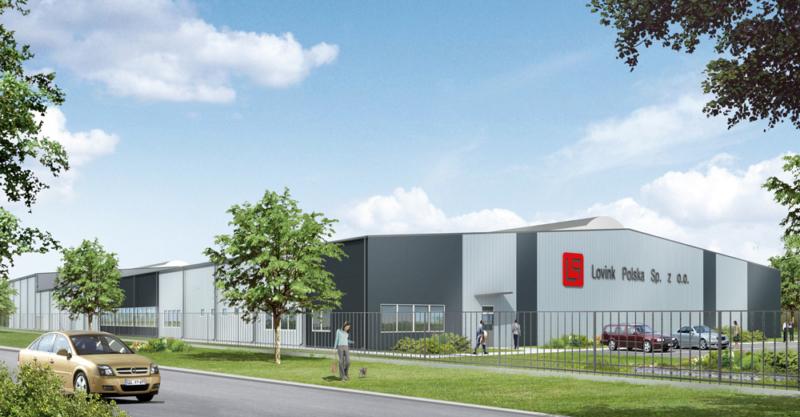 Budowa hali dla firmy Lovink Polska