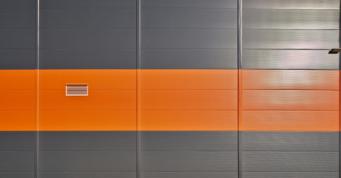 kolorystyka elewacji hali - trzecia hala dla Mardom Pro, generalne wykonawstwo CoBouw Poslka, woj. mazowieckie
