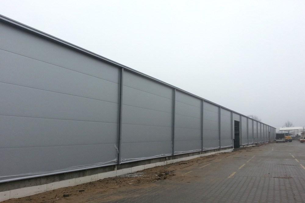prace wykończeniowe - hala produkcyjna, dla firmy Meblomaster, Węgrów, woj. mazowieckie
