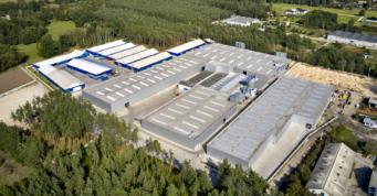 zakład produkcyjny Meblomaster - hala produkcji mebli, projekt i budowa CoBouw Polska, Węgrów, woj. mazowieckie