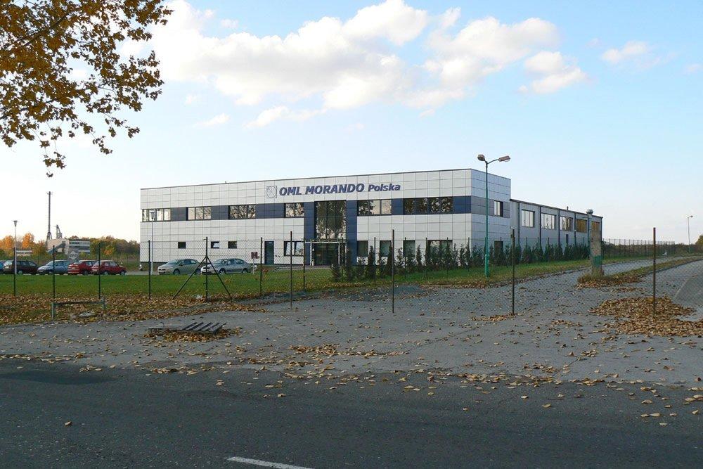 widok ogólny 2 - rozbudowa hali produkcyjnej, dla OML Morando, Czerwionka-Leszczyny