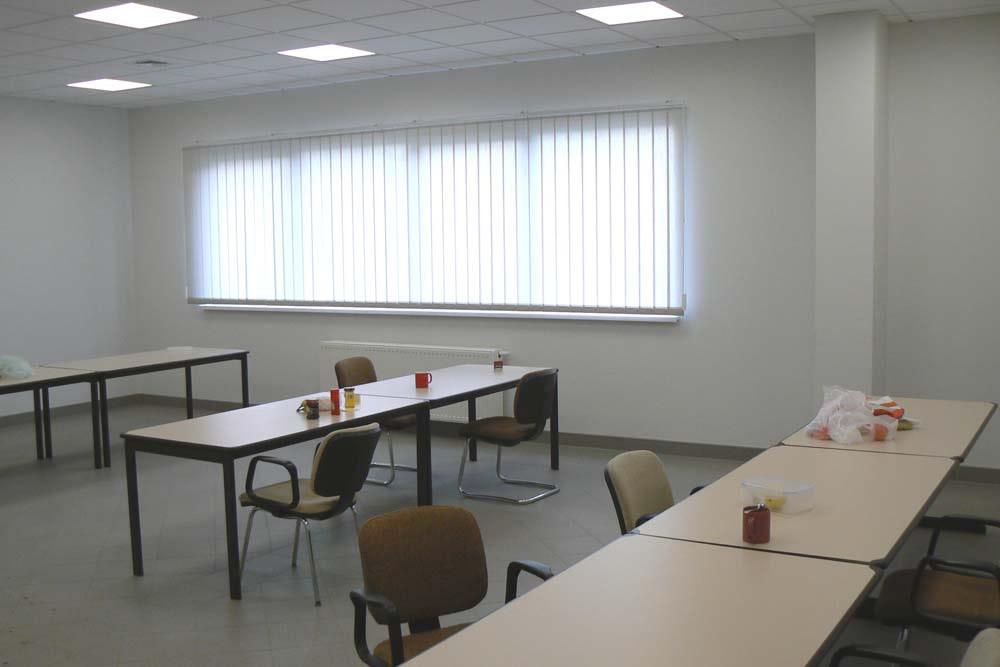 pomieszczenie biurowe - hala produkcyjno-magazynowa z częścią biurową, dla Lovink, Wykroty, woj. dolnośląskie