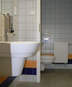 pomieszczenie sanitarne - hala produkcyjno-magazynowa, dla Karen, Czyżowice, woj. śląskie
