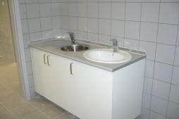 pomieszczenie socjalne - hala produkcyjna z częścią biurową, dla Oras, Olesno, woj. opolskie