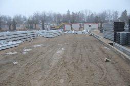 elementy konstrukcji stalowej - hala produkcyjna, dla Feber, Sieradz, woj. łódzkie