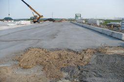 podkład betonowy pod posadzkę - hala produkcyjno-magazynowa, dla Nafa Polska, Łozienica, woj. zachodniopomorskie