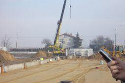 wznoszenie konstrukcji stalowej - sortownie i przechowalnie owoców z częścią biurową, dla Witamina, Biała Rządowa