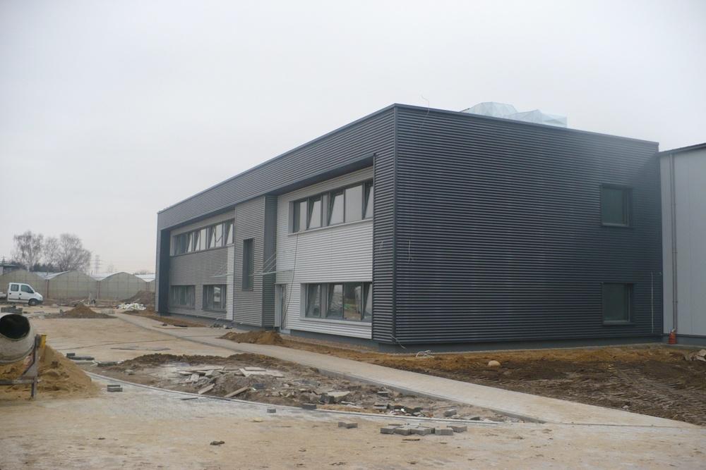 budynek biurowy 1 - hala produkcyjna z budynkiem biurowym, dla Irmark, Warszawa, woj. mazowieckie