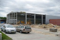 konstrukcja stalowa - hala produkcyjno-magazynowa z częścią biurową, dla 2x3, Krzęcin, woj. zachodniopomorskie