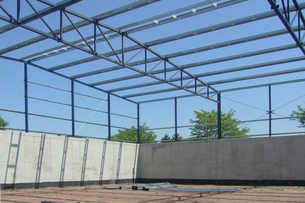 konstrukcja stalowa - hala przemysłowa, dla Van Gansewinkel, Ruda Śląska, woj. śląskie