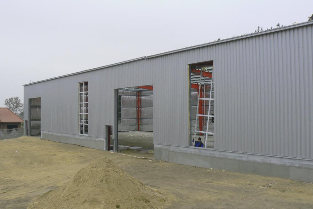 prace wykończeniowe - hala produkcyjna, dla Janssen, Konin, wielkopolskie