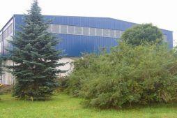 widok ogólny 1 - hala przemysłowa, dla Van Gansewinkel, Ruda Śląska, woj. śląskie