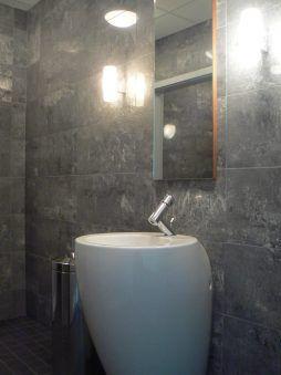 pomieszczenie sanitarne - hala produkcyjna z częścią biurową, dla Oras, Olesno, woj. opolskie