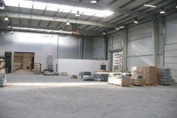 wnętrze obiektu - hala produkcyjna z częścią socjalną, dla HG Poland, Łozienica, woj. zachodniopomorskie