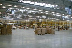 wnętrze hali 2 - hala produkcyjna z częścią biurową, dla Oras, Olesno, woj. opolskie