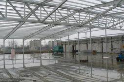 konstrukcja stalowa - hala produkcyjna, dla Filtry Haft, Gorzów Wielkopolski, woj. lubuskie
