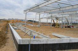 konstrukcja stalowa 1 - hala produkcyjna z zapleczem biurowym, dla Wiefferink, Wykroty, woj. dolnośląskie