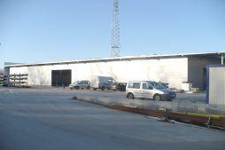 obszar wokół obiektu 1 - hala produkcyjna, dla Auto-Hak, Słupsk, woj. pomorskie