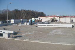elementy konstrukcji stalowej 1 - hala produkcyjna z częścią biurową, dla Markos, Słupsk, woj. pomorskie