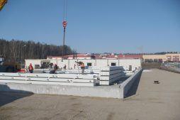 elementy konstrukcji stalowej 2 - hala produkcyjna z częścią biurową, dla Markos, Słupsk, woj. pomorskie