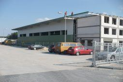 widok ogólny 6 - hala produkcyjna z częścią biurową, dla Markos, Słupsk, woj. pomorskie