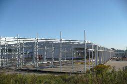 konstrukcja stalowa hali 2 - hala produkcyjna z częścią biurową, dla Leann Stańczyk, Słupsk, woj. pomorskie