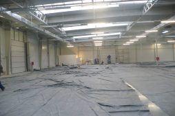 prace wykończeniowe 1 - hala produkcyjna z budynkiem biurowym, dla Meblomaster, Węgrów, woj. mazowieckie