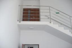 klatka schodowa 1 - hala produkcyjna z budynkiem biurowym, dla Meblomaster, Węgrów, woj. mazowieckie