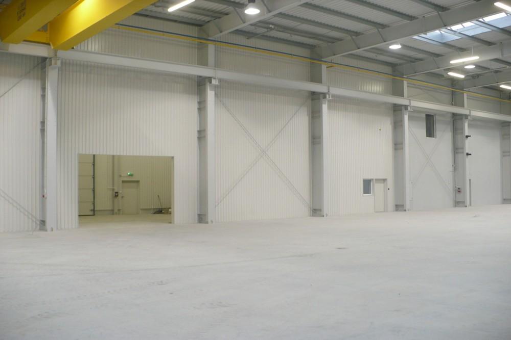 wnętrze obiektu 1 - hala produkcyjna z częścią biurową, dla Pritip, Puławy, woj. lubelskie