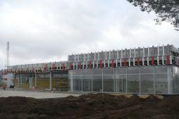 przygotowanie pod montaż paneli elewacyjnych - hala produkcyjna z budynkiem biurowym, dla Auto-Hak, Słupsk