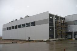 montaż paneli elewacyjnych - hala magazynowa, dla Szpec-Bud, Kobylnica, woj. pomorskie