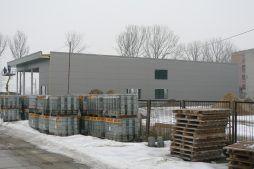 widok ogólny 1 - hala produkcyjna, dla Cornette, Sieradz, woj. łódzkie