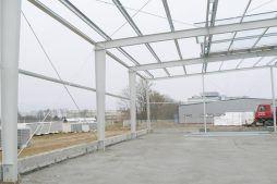 konstrukcja blachownicowa 1 - hala magazynowa, dla Biomaxima, Lublin, woj. lubelskie