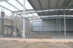 obiekt w trakcie budowy 1 - hala magazynowa, dla Biomaxima, Lublin, woj. lubelskie