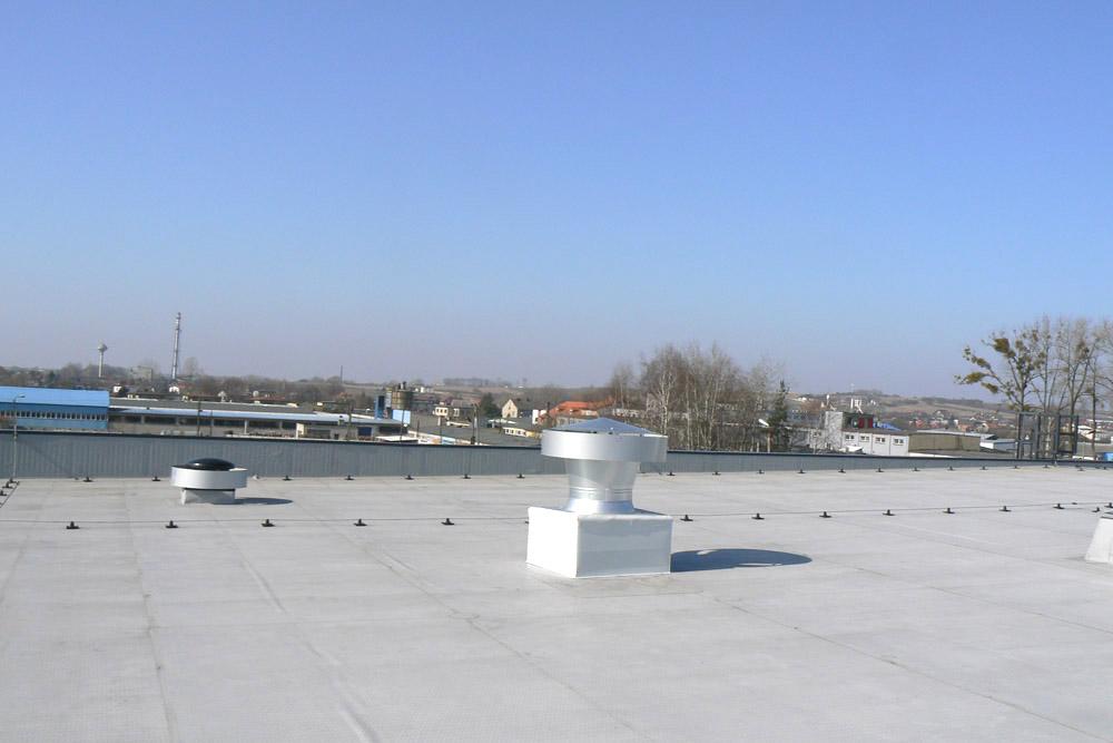 membrana dachowa - hala produkcyjna, dla Rollico Rolling Components, Lubliniec, woj. śląskie
