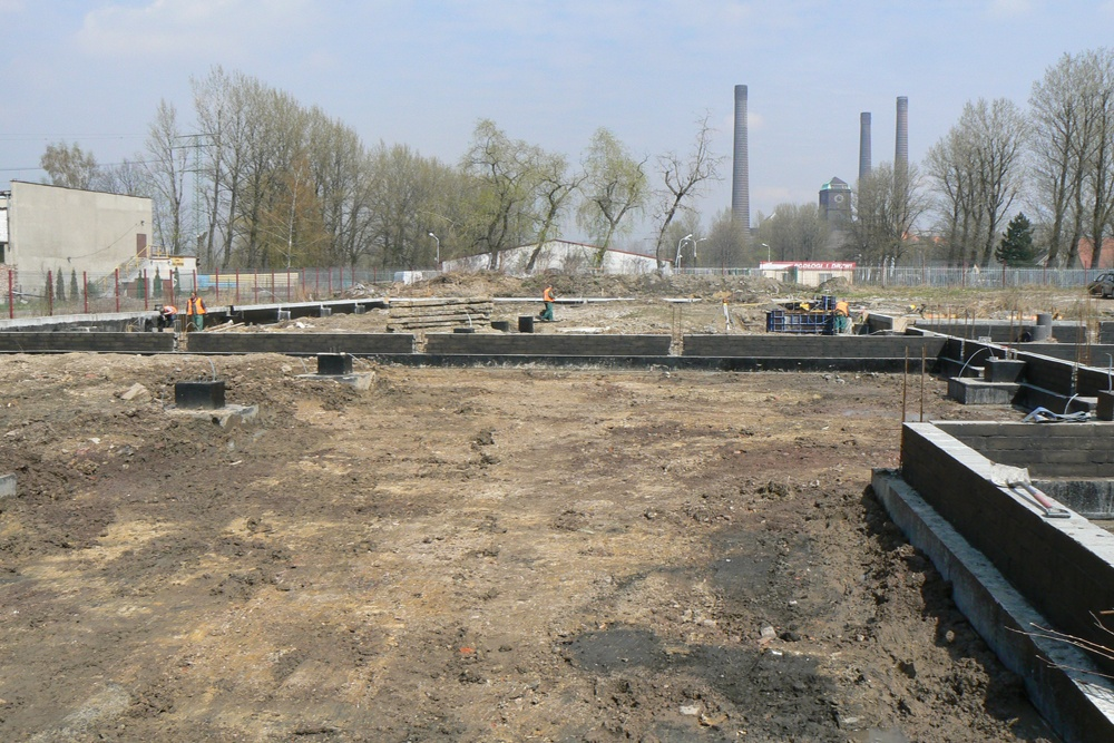 prace budowlane 1 - hala produkcyjno-magazynowa z budynkiem biurowym, dla Viva Plus, Bytom, woj. śląskie