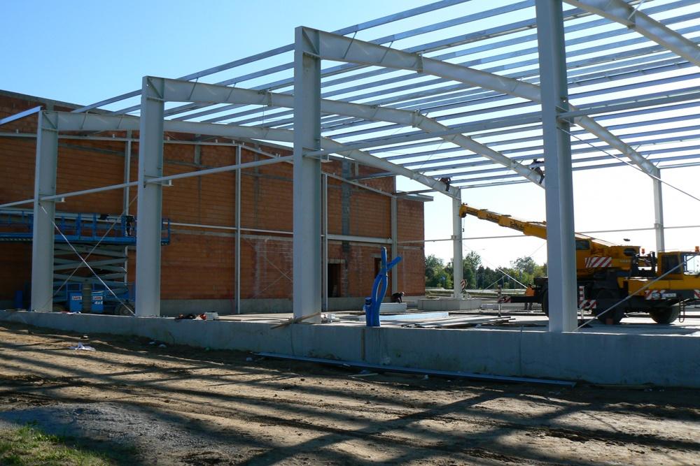 konstrukcja stalowa - hala produkcyjna, dla Ferrum-Profil System, Częstochowa