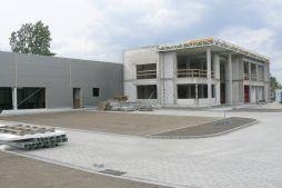 widok ogólny 6 - hala produkcyjno-magazynowa z budynkiem biurowym, dla Viva Plus, Bytom, woj. śląskie