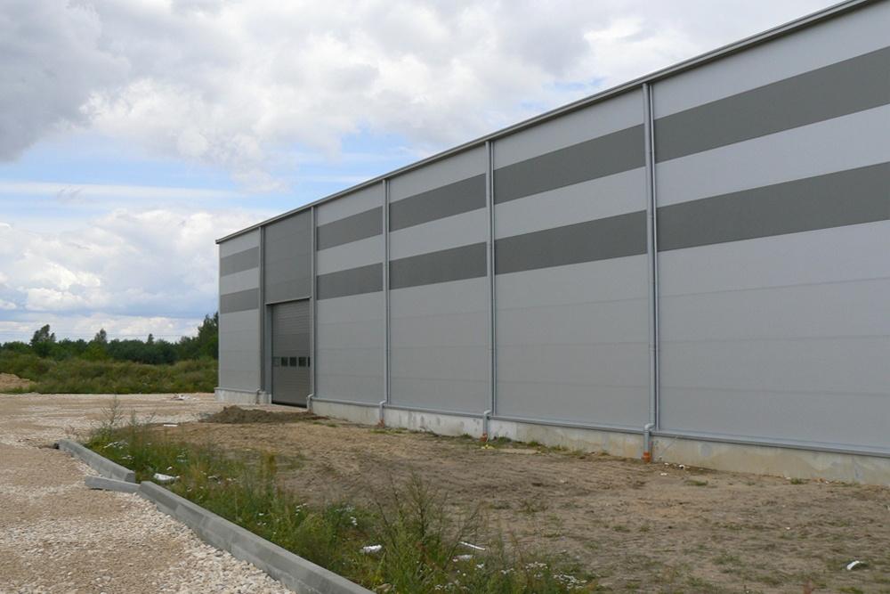 ściana boczna 4 - hala produkcyjna, dla Ferrum-Profil System, Częstochowa, woj. śląskie