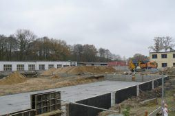 prace budowlane - hala magazynowa, dla Arma Bauteile, Lubliniec, woj. śląskie