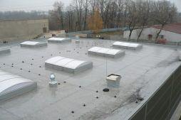 świetliki dachowe - hala produkcyjno-magazynowa z budynkiem biurowym, dla Viva Plus, Bytom, woj. śląskie